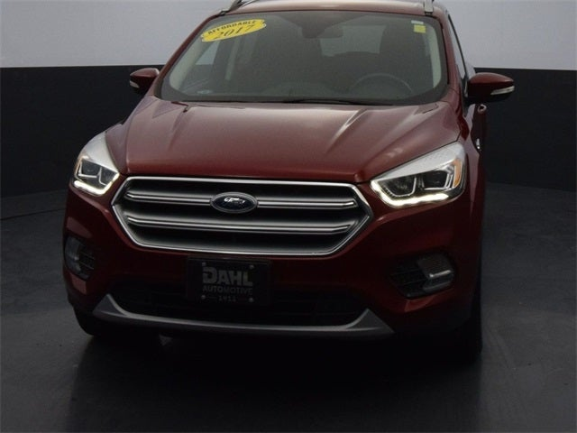 Used 2017 Ford Escape Titanium with VIN 1FMCU9JD1HUE47962 for sale in Winona, Minnesota