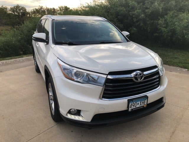 Used 2014 Toyota Highlander Limited with VIN 5TDDKRFH3ES029767 for sale in Winona, Minnesota